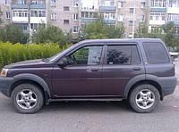 Дефлекторы окон (ветровики) Land Rover Freelander I 1998-2006 (Лэнд ровер фриландер) Cobra Tuning