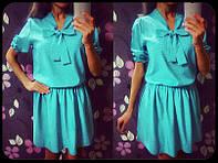 Платье в мелкий горошек 638