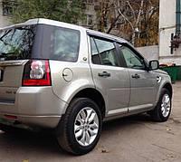 "Дефлекторы окон (ветровики) Land Rover Freelander II 2007""EuroStandard"" (Лэнд ровер фриландер) Cobra Tuning"