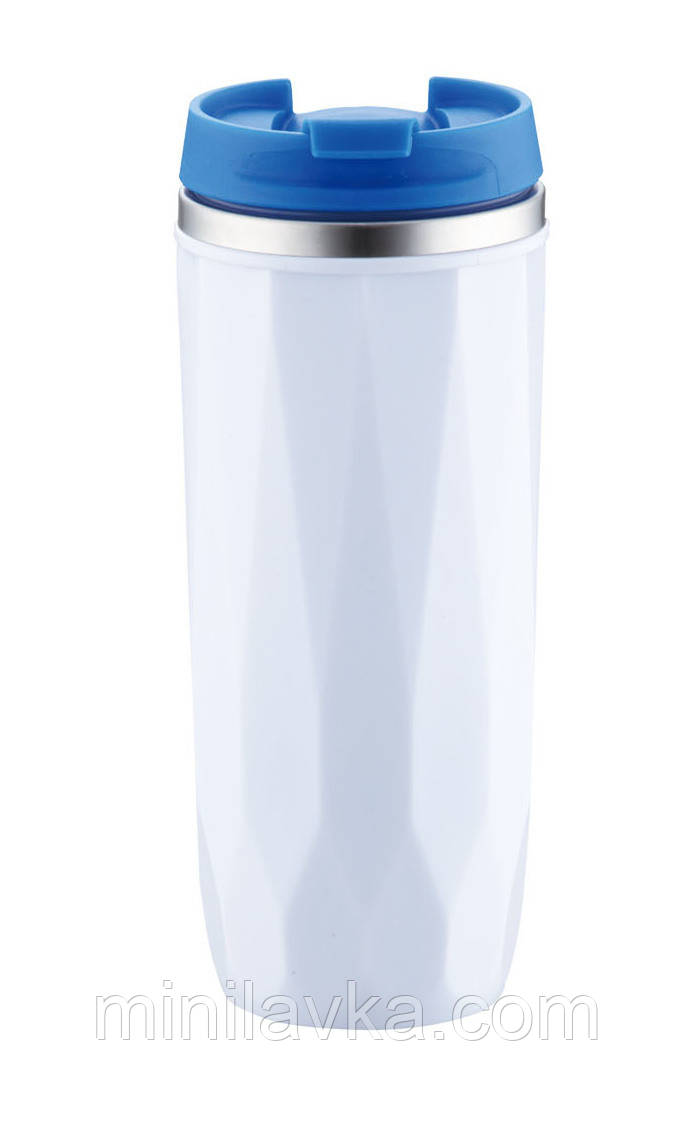 Термос-термокружка Peterhof PH-12424 blue (0,38 литра)