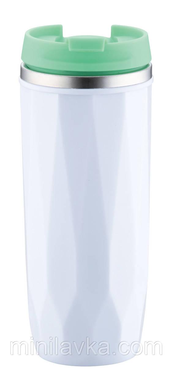 Термос-термокружка Товарpeterhoff PH-12424 green (0,38 літра)