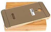Чехол бампер с задней крышкой MSVII для Meizu MX4 Pro Gold