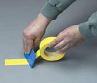 3M™ Лента для разметки полов и сигнальной маркировки 471  (0,13 х 50 мм х 33 м) .Ограничительная лента  Желтый
