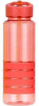 Бутылка пластиковая для воды SMILE SBP-1 pink