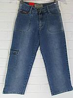 Капрі жіночі джинсові 1813.22 сині 26-29