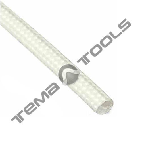 Термостойкая трубка (кембрик) 8 мм из стекловолокна