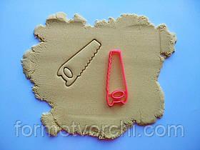 """3D формочки-вырубки для пряников """"Пила"""""""
