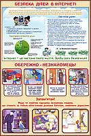 Стенд Безпека дітей в інтернеті