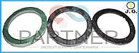 Паронит алюминиевой батареи 2мм зеленая (100шт)