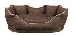 Trixie Лежак Pyra, 55 × 42 см, текстиль, коричневый