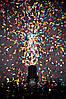 Конфетти фольгированные разноцветные Звезды 0,3 кг, фото 3