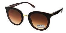 Коричневые солнцезащитные очки мода 2019 Giulia Rossi