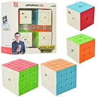 Набор Кубиков Рубика QiYi, 2х2-5х5 (EQY526)