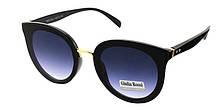 Солнцезащитные очки черные мода 2019 Giulia Rossi