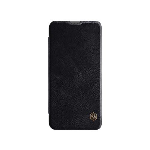 Кожаный чехол (книжка) Nillkin Qin Series для Huawei Nova 4