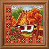 Леді Набор для вышивки крестом Осіння Буковина 01270