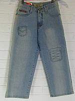 Капрі жіночі джинсові 1845.17 світло-сині 26-28