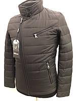 Куртка мужская демисезонная DSGdong В15-8262 46 Коричневая