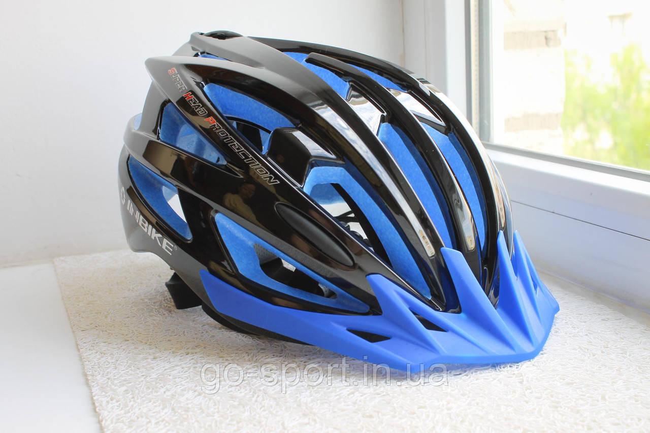 Велосипедный шлем Inbike черный, фото 1