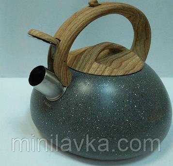 Чайник со свистком Bohmann BH 9935 black 3 л