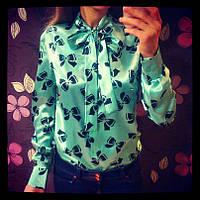 Стильная рубашка с длинным рукавом 646