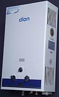 Колонка газовая  ДИОН  JSD 10 дисплей белая- голубая (комфорт)