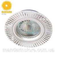Врезной светильник Feron GS-M369 (серебро)