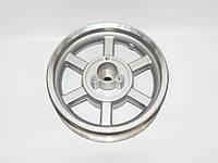 Диск задній 12''  х 3,50 - (125-150 CC) литий, барабан. торм., 19 шліц. (металік), фото 1