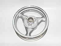 Диск задній 13'' х 3,50 - TORNADO 150, литий, диск.торм.,19 шліц. (металік)