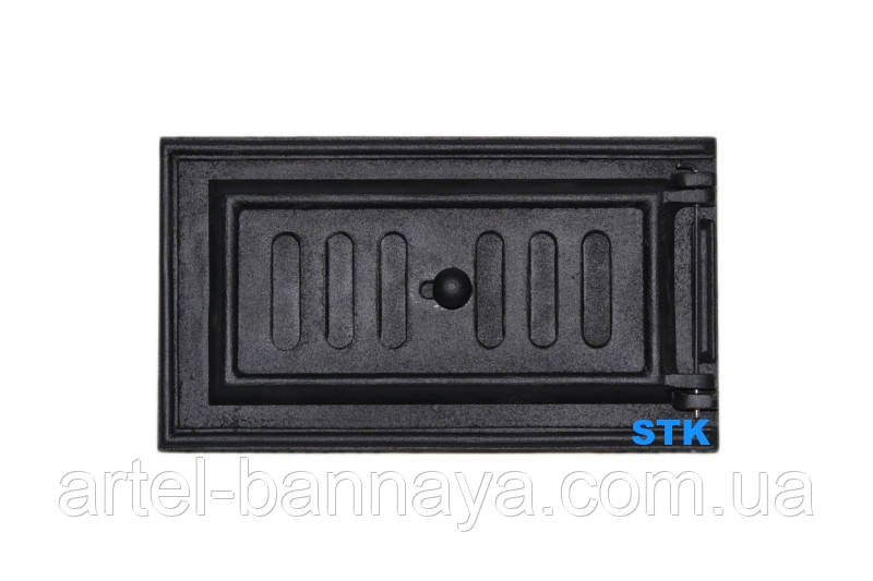 Люк для золы герметичный, зольная дверца STK 432