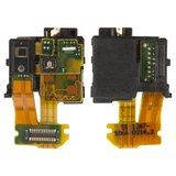 Конектор handsfree (роз'єм навушників) для Sony Xperia Z C6602 L36h, C6603 L36i, C6606 L36a, з шлейфом