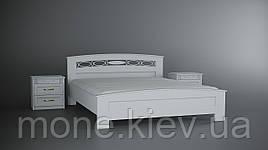 Кровать деревянная белая   Верона (В НАЛИЧИИ)