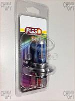 Лампочка фары H4, блистер, ближний + дальний, Chery QQ [S11, 0.8], H4L12V55W, Pulso