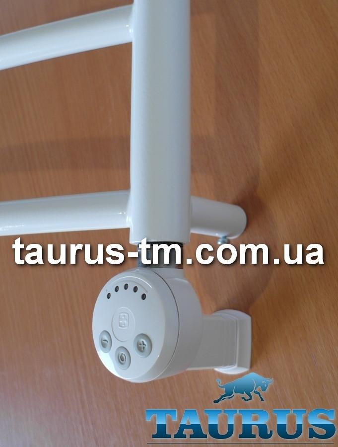Белый ТЭН TERMA MEG1 MS White с регулятором 30-65C + маскировка провода +индикация. Польша. Мощность 120-1000W