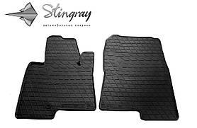 Передние резиновые коврики MITSUBISHI Pajero Wagon 1999-2007 Stingray (2шт/комп) 1013182