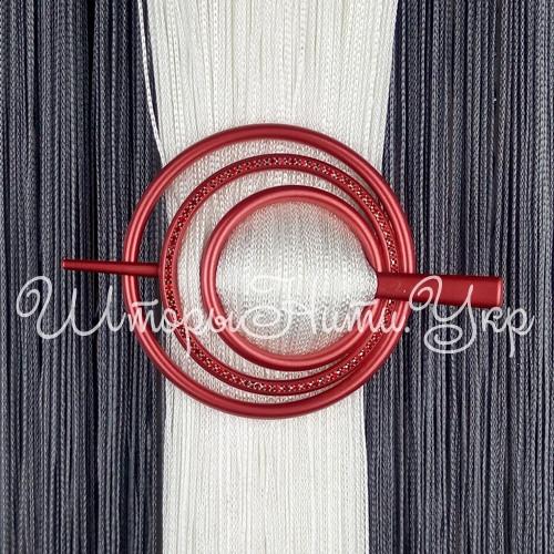 Заколка для штор нитей Круг Элит №11 Красный