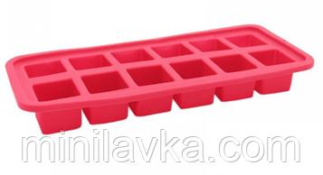 Силиконовая форма Krauff 26-184-030 - 26x10,8x3,5 см для выпечки и льда