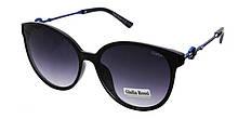 Черные солнцезащитные очки мода 2019 Giulia Rossi