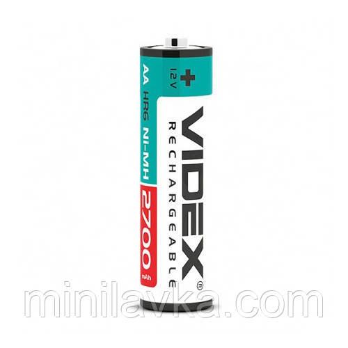 Аккумуляторы Videx HR6/AA 2700mAh double blister/2шт (20 шт/уп)
