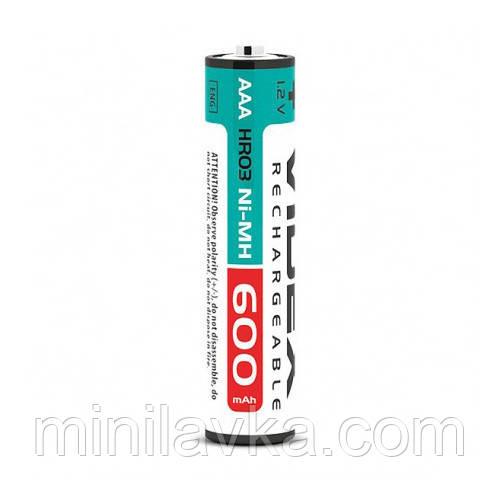 Аккумуляторы Videx HR03/AAA 600MAH double blister/2pcs 20/200