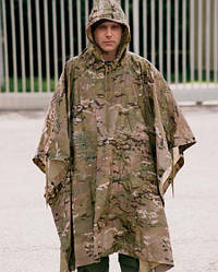 Пончо камуфлированное армейское Ripstop Multitarn, Mil-Tec 10630049