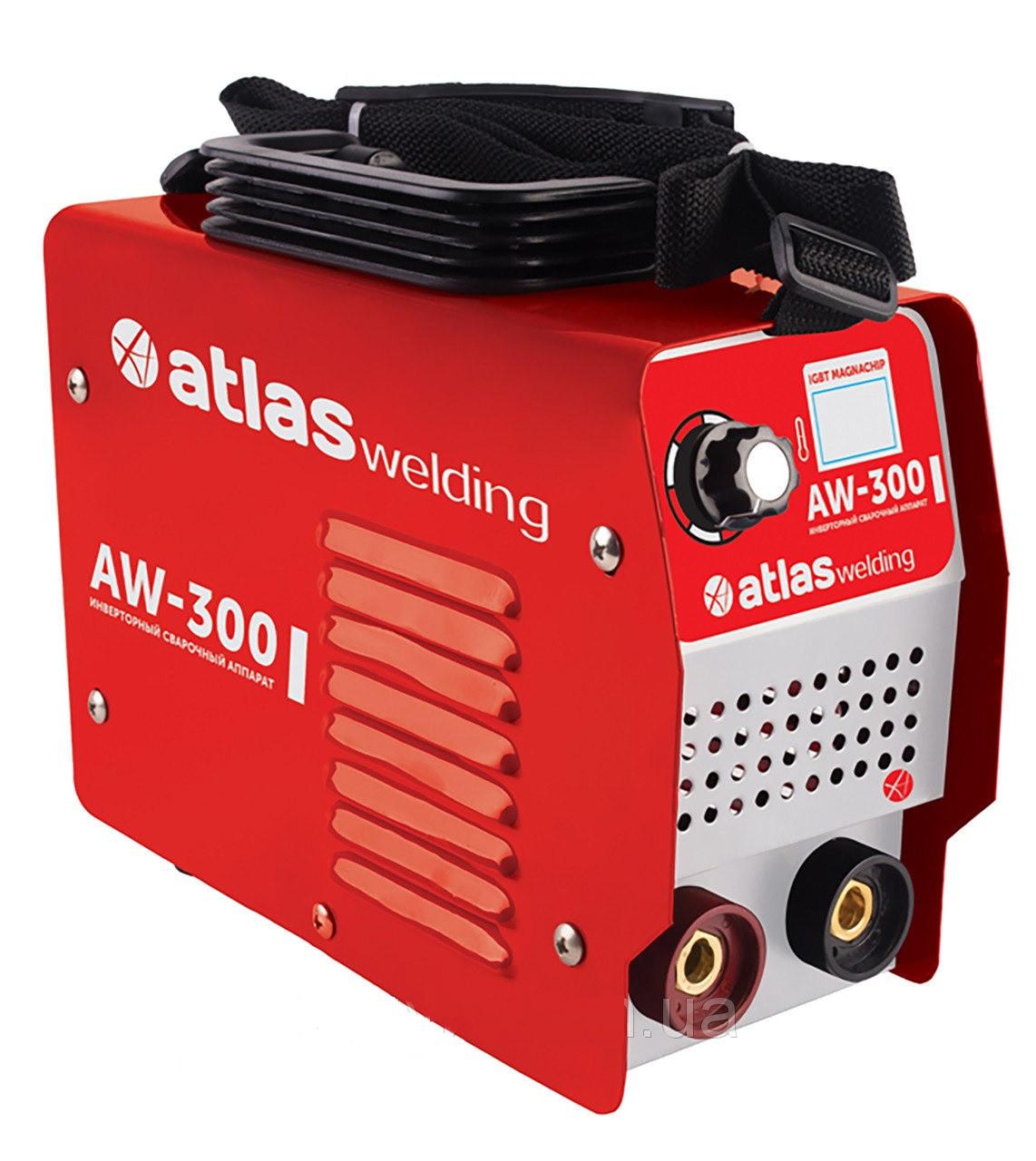 Инверторный сварочный аппарат Atlas welding AW-300 (дисплей)