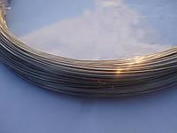 Нержавеющая проволока мягкая 04Х18Н9 1 мм для сетки