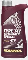Трансмиссионное масло Mannol Type T-IV Automatic Special 1L