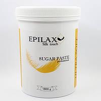 Ультра мягкая паста для шугаринга ТМ Epilax silk touch 1800 гр