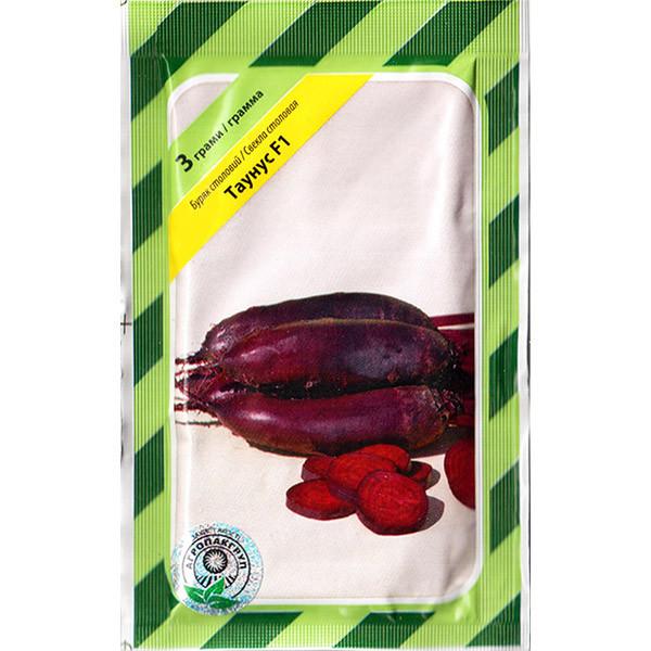 """Семена свеклы столовой, пригодной для хранения """"Таунус"""" F1 (3 г) от Bejo, Голландия"""