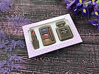 Шоколадный набор косметики