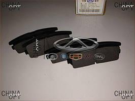 Колодки тормозные задние, дисковые, Great Wall Hover [H2,2.4], 3502177-K00, Aftermarket