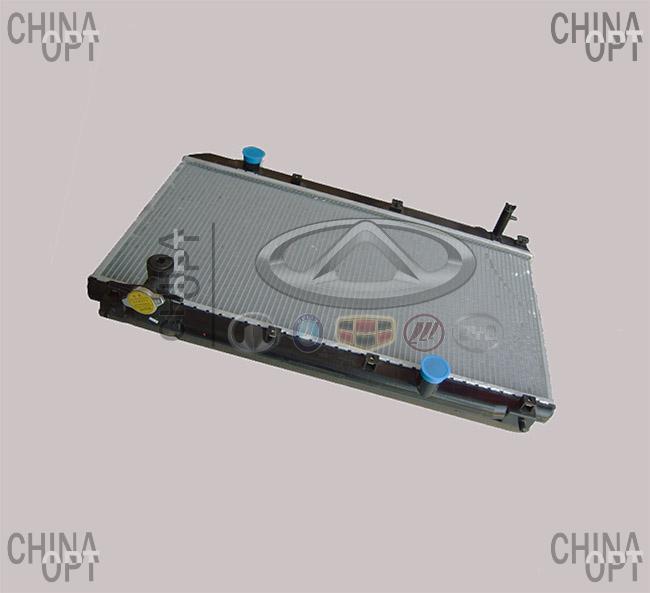 Радиатор охлаждения, 4G63, Chery Tiggo [2.4, до 2010г.,MT], T11-1301110, Aftermarket