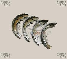 Колодки тормозные задние, барабанные, Great Wall Deer [4X2, 2.2], 3502160-D01, Aftermarket